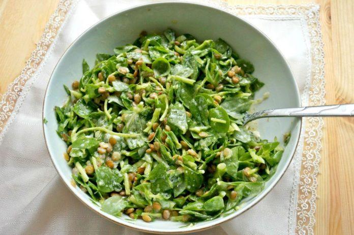 Sofranızdan Yeşili Eksik Etmeyin: Mercimekli Semizotu Salatası Tarifi