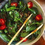 Çok Doyurucu: Ispanak Salatası Tarifi