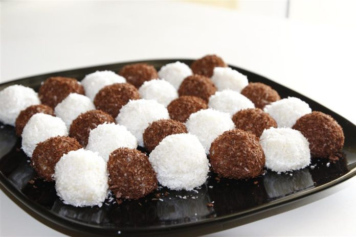 Kakaolu Sütlü Toplar