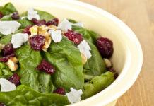 Lorlu Ispanak Salatası