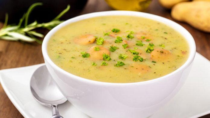 Sarımsaklı Sebze Çorbası