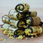 Tam Atıştırmalık: Bulgurlu Izgara Patlıcan Ruloları Tarifi